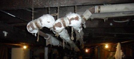 Asbestos abatement before